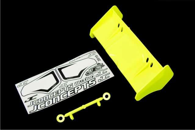Illuzion 1/8th Buggy /Truggy Wing – Yellow