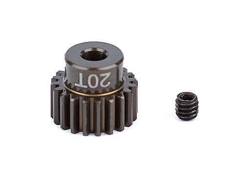 FT Aluminum Pinion Gear, 20T 48P, 1/8 shaft