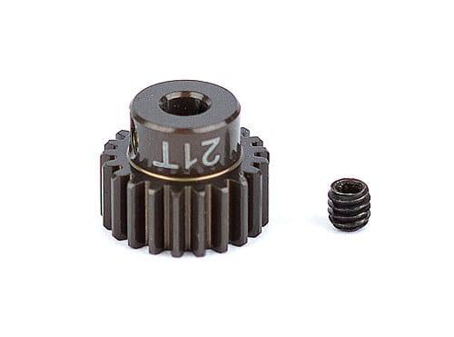 FT Aluminum Pinion Gear, 21T 48P, 1/8 shaft