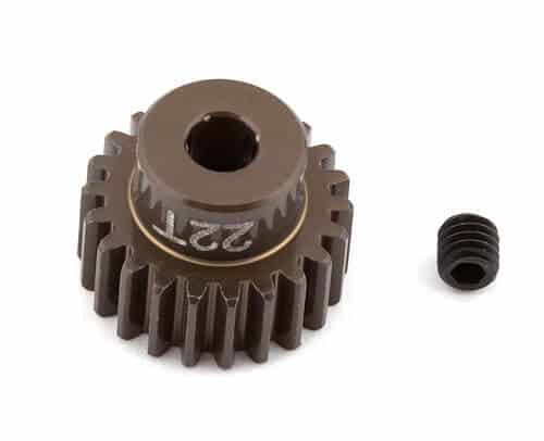 FT Aluminum Pinion Gear, 22T 48P, 1/8 shaft
