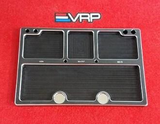 VRP CNC Medium Parts Tray 120mm x 80mm (Black) w/ Storage Pouch