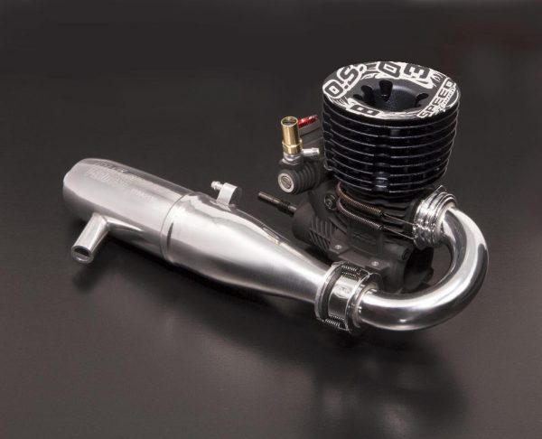 O.S. Speed B2103 Type R Buggy Engine with T-2100SC Pipe