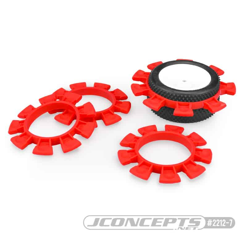 SATELLITE TIRE RUBBER BANDS – RED