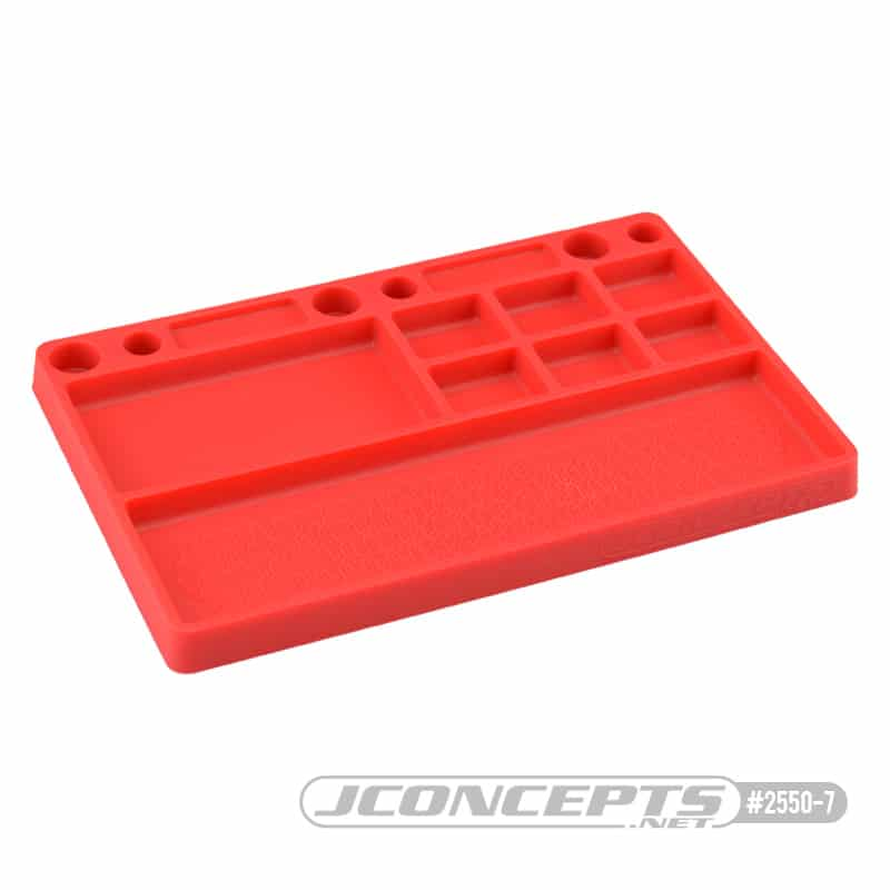 JCONCEPTS PARTS TRAY – RED
