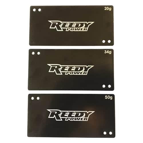 Shorty Battery Weight Set, 20g, 34g, 50g
