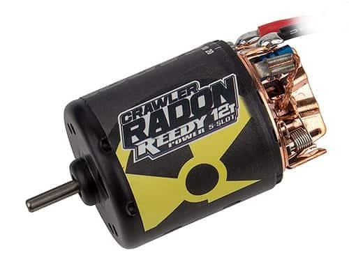 Reedy Radon 2 Crawler 12T 5-Slot 2700kV Brushed Motor