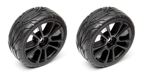 10-Spoke Wheel and Tire