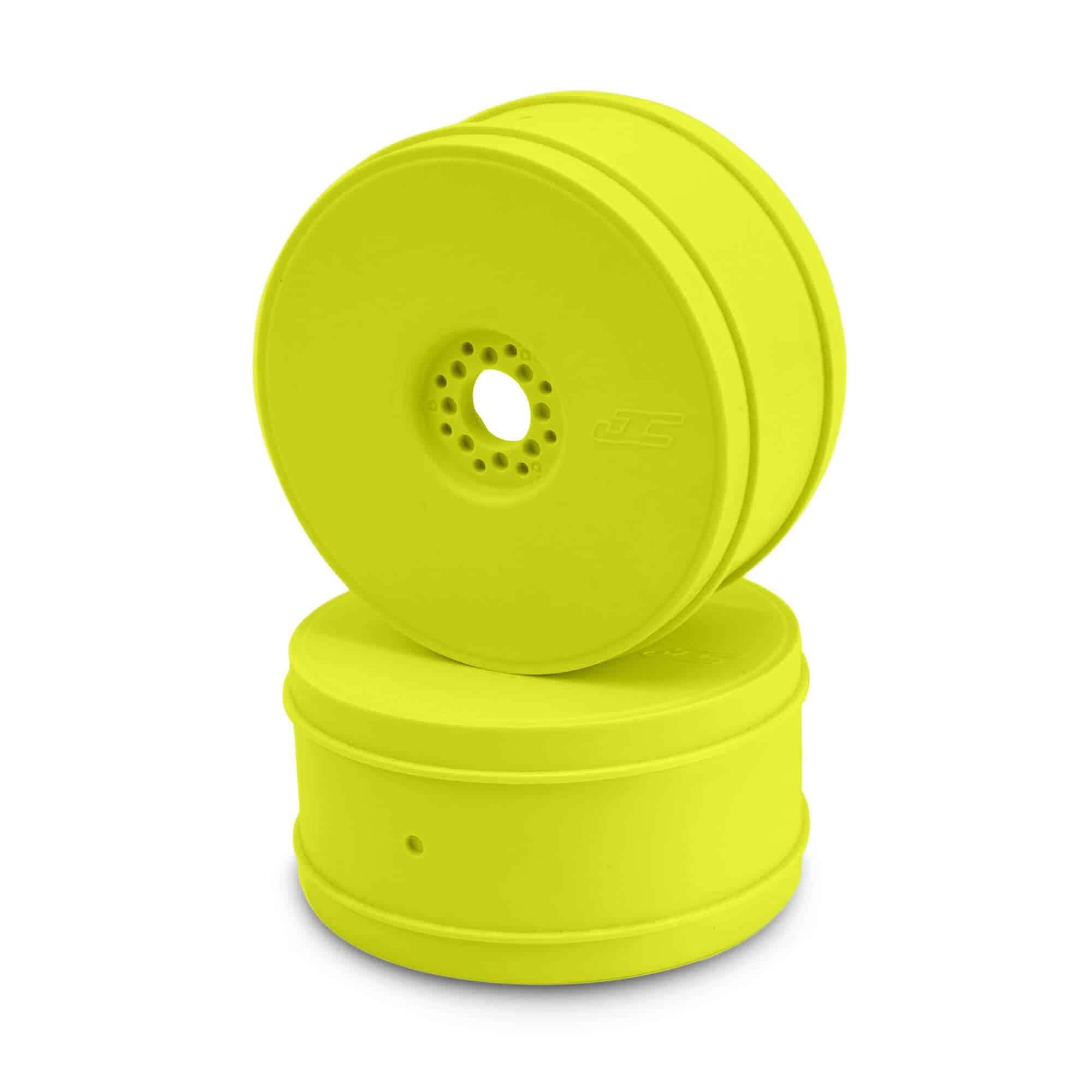 BULLET – 1/8TH BUGGY WHEEL – 83MM – 4PC – YELLOW