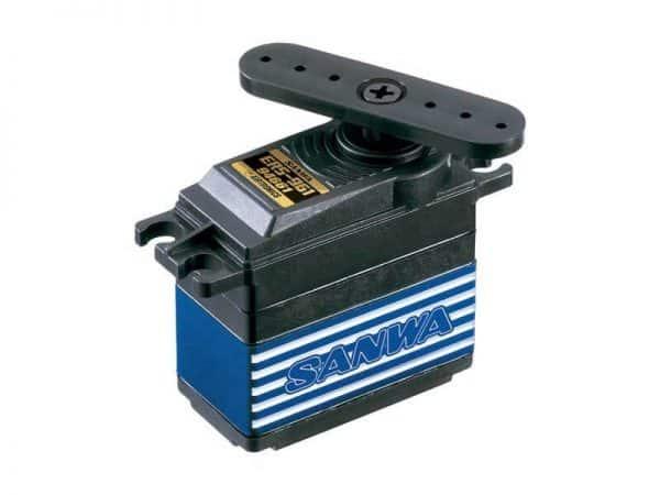 Airtronics 94661 Hi Speed Titanium Gear Waterproof Servo ERS961