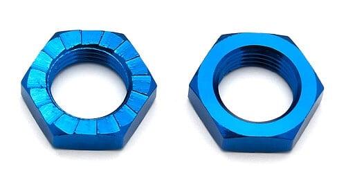 Wheel Nuts, 17 mm, blue