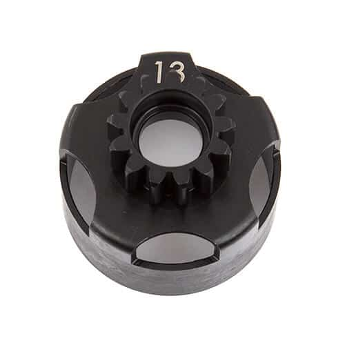 Clutch Bell, 13T, vented, 4-shoe