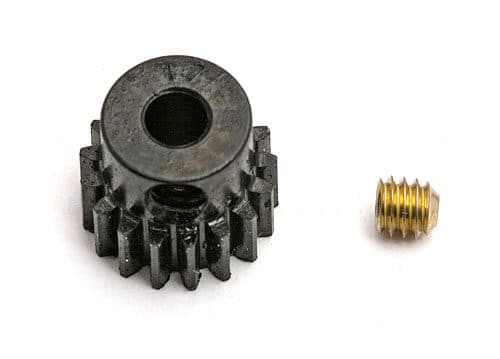 17 Tooth, Precision Machined 48 pitch Pinion Gear