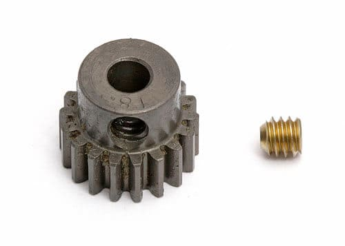 18 Tooth, Precision Machined 48 pitch Pinion Gear