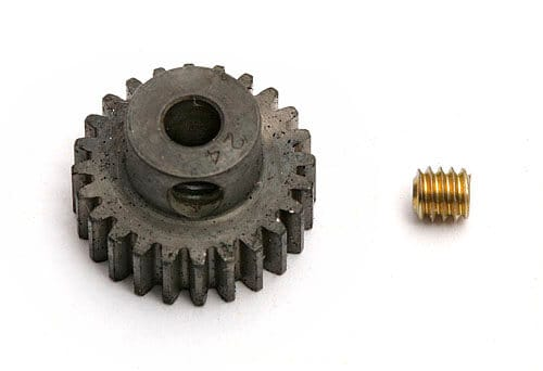 24 Tooth, Precision Machined 48 pitch Pinion Gear