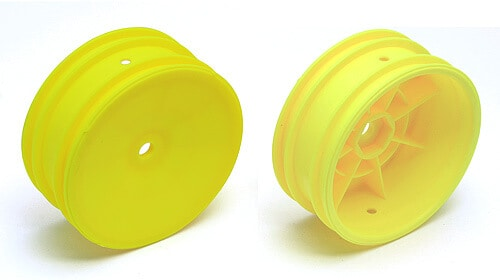 Buggy Front Hex Wheels, yellow
