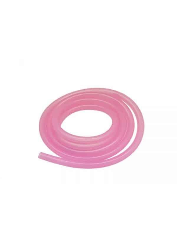 Silicone Tube – Fluorescent Pink (100cm)