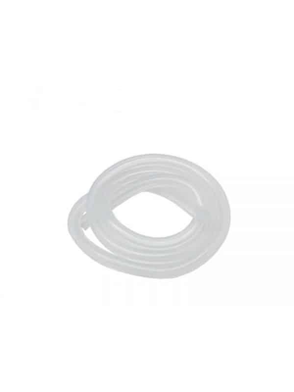 Silicone Tube – Fluorescent clear (100cm)