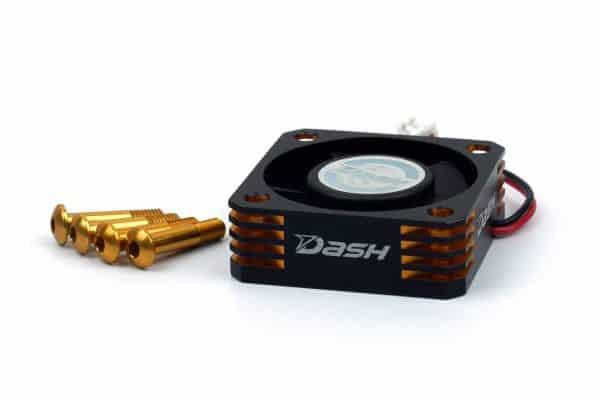 Dash Ultra High Speed ESC Cooling Fan 30x30x10mm (Alu) Black Golden