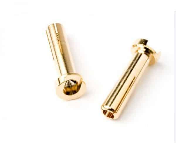 5.0mm Bullet Plug (flat Type) 10 pcs/bag (10pcs)