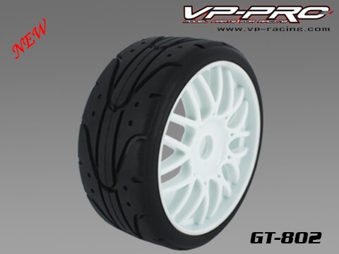 GT ONROAD WHEELS FOR 1/8 BUGGY – 1PR