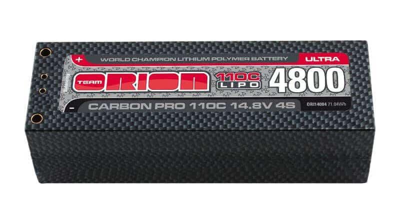 Carbon Pro Ultra LiPo 4800 110C 14,8V XS 38mm Pack 5mm Tubes