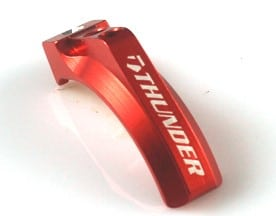 Aluminum Transmitter Brake Rod (Futaba 4PX) – Blue/Red/Black