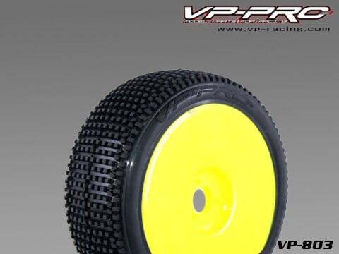Striker Evo Tyre (Pre Glued) – Yellow Wheel – Soft – 1 Pair
