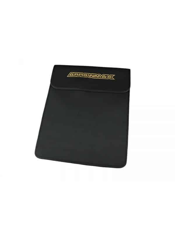 Bag For Graphite Set-Up Board (1/10 & 1/8 Cars) Black Golden