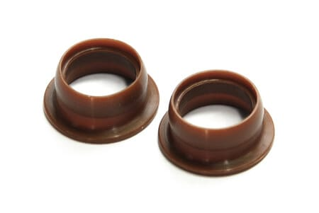 Alpha Plus Rubber Adaptor For Manifolds (2Pc)