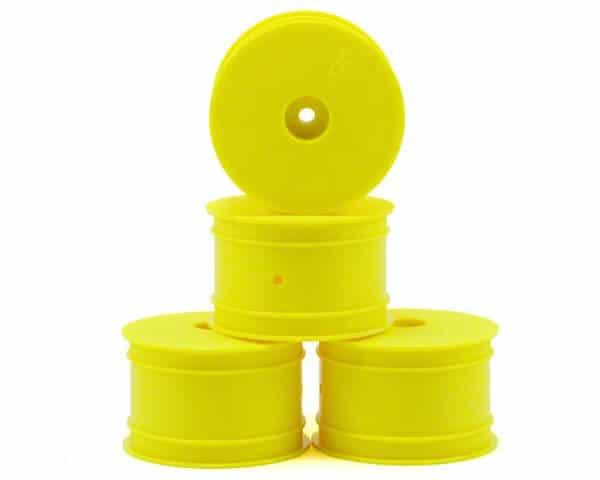 JConcepts Mono 2.2 Hex Rear Wheel (4) (TLR 22) (Yellow)