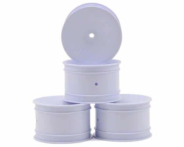 JConcepts Mono 2.2 Rear Wheel w/12mm Hex (4) (White)