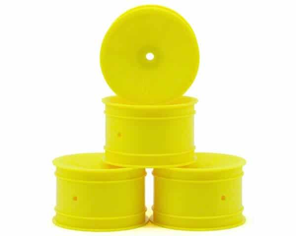 JConcepts Mono 2.2 Rear Wheel w/12mm Hex (4) (Yellow)