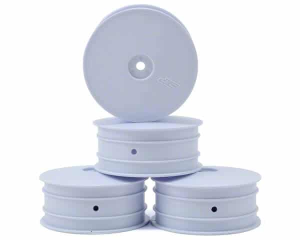 JConcepts Mono 2.2 4wd Front Buggy Wheels (4) (White) – 10mm HEX