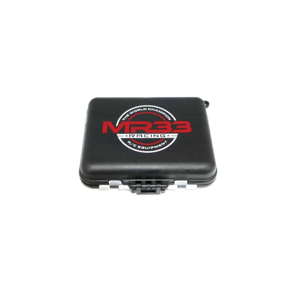 MR33 HARDWARE BOX SMALL 12X9X3.5CM-D/SIDED