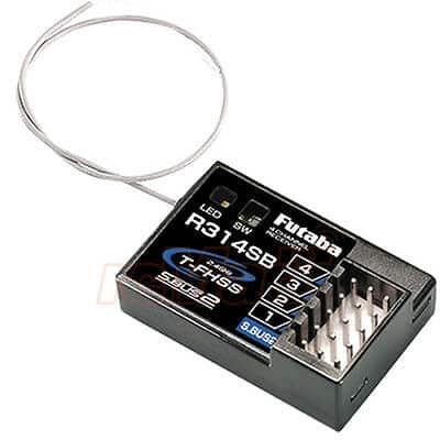 Futaba R314SB 4 Channel 2.4GHz T-FHSS Receiver For 4PLS 4PX 4PXR