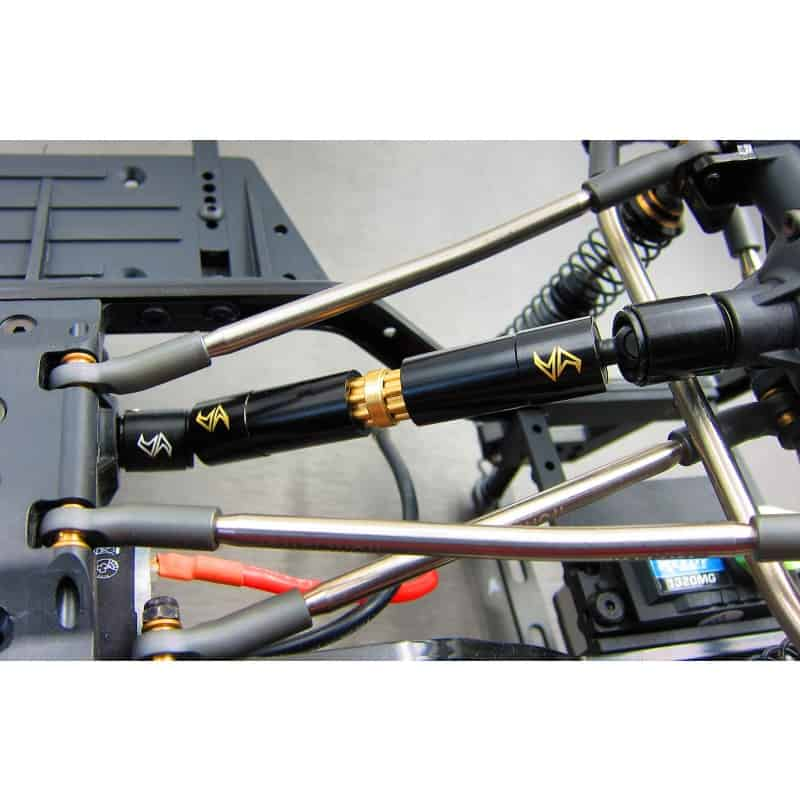 Enduro Brass inner & outer driveshaft combo set