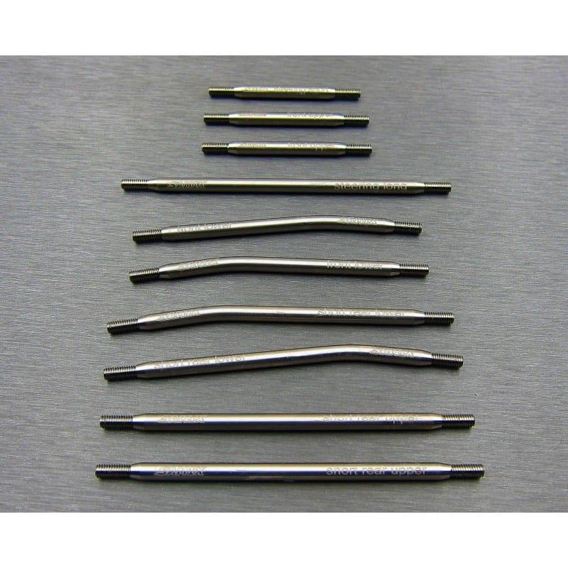 TRX-4 312mm Titanium high clearance full link kit (10pcs)