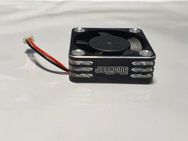 Aluminium 30×30 Fan for ESC with HW connector –  SILVER