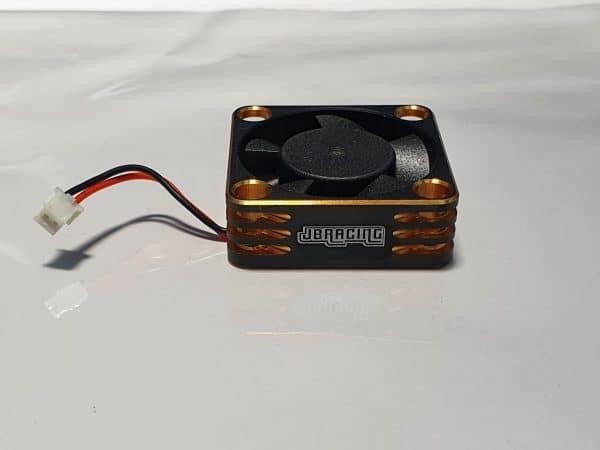 Aluminium 30×30 Fan for ESC with HW connector –  GOLD