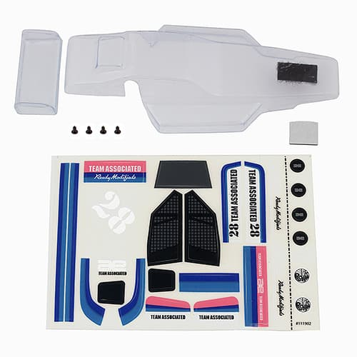 RC28 Buggy Body, clear