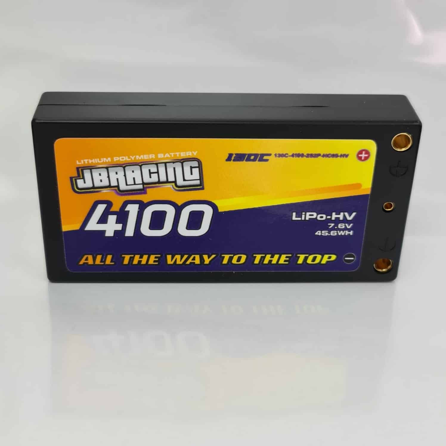JBRacing LiPO-HV battery 7.6v 4100mah LP shorty