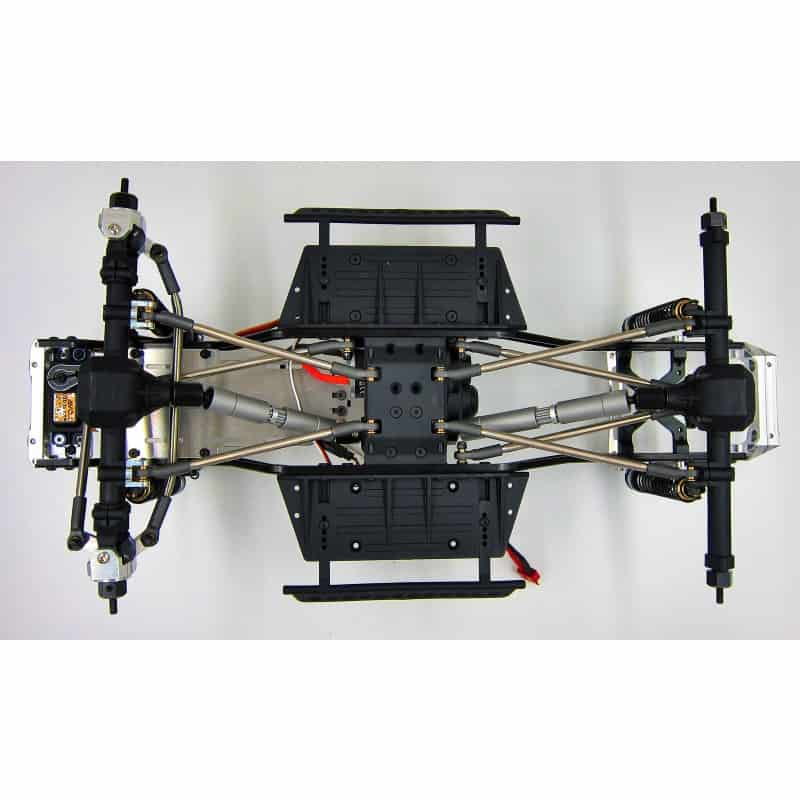 Enduro Titanium high clearance (10pcs) full set link kit (313mm long wheel base)