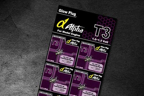 Alpha Platinum Glow Plug T3 Hot