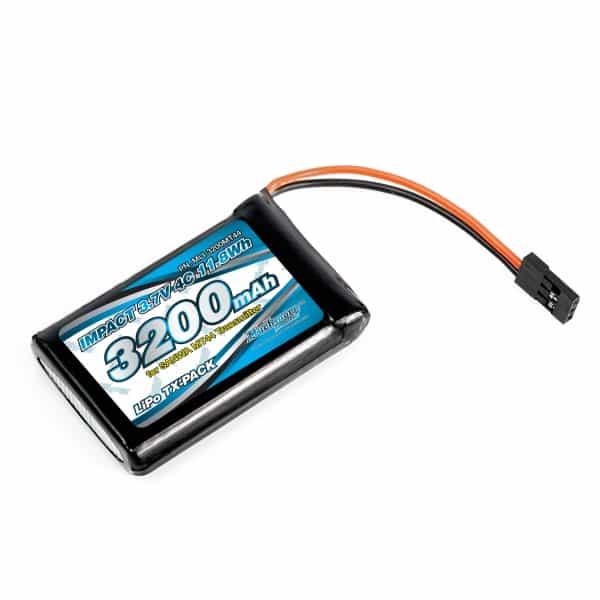 IMPACT Li-Po Battery 3200mAh/3.7V 4C for SANWA MT44 Transmitter