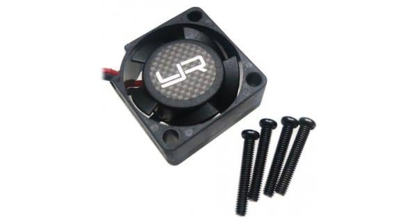 Yeah Racing Hacktronic Tornado High Speed Ball Bearing Fan 25mm For ESC