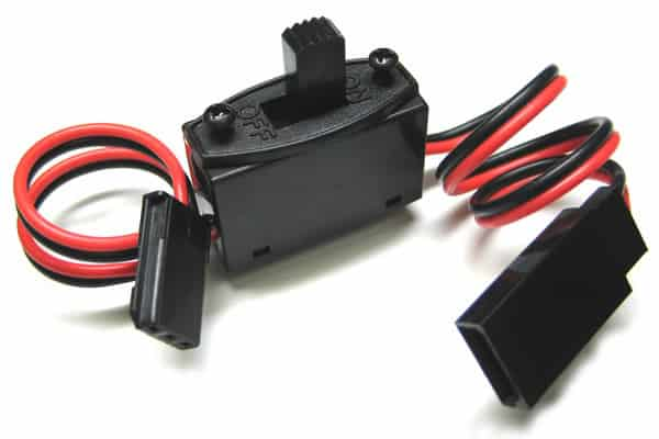 2 Lead RC Switch Harness with On/Off Switch