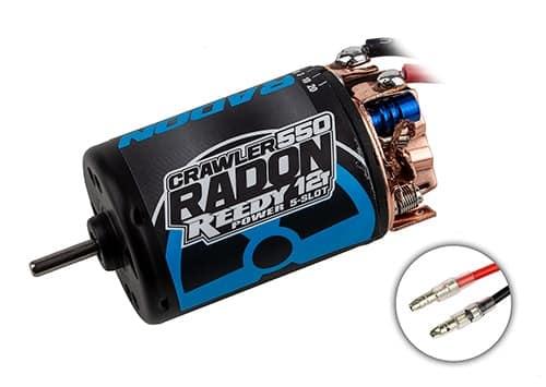 Reedy Radon 2 Crawler 550 12T 5-Slot 1850kV Brushed Motor