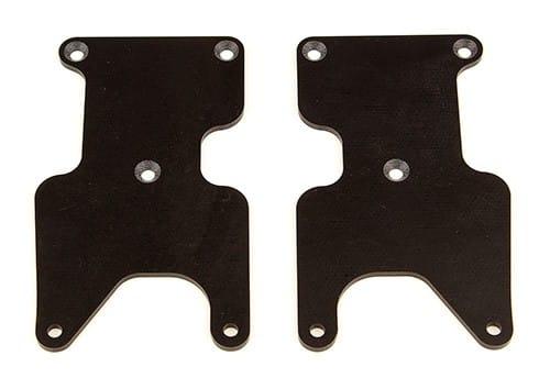 RC8B3.2 FT Rear Suspension Arm Inserts, G10, Rear, 2.0 mm