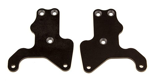 RC8B3.2 FT Lower Suspension Arm Inserts, G10, Front Lower, 2.0 mm