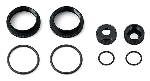 16mm Shock Collar and Seal Retainer Set, black